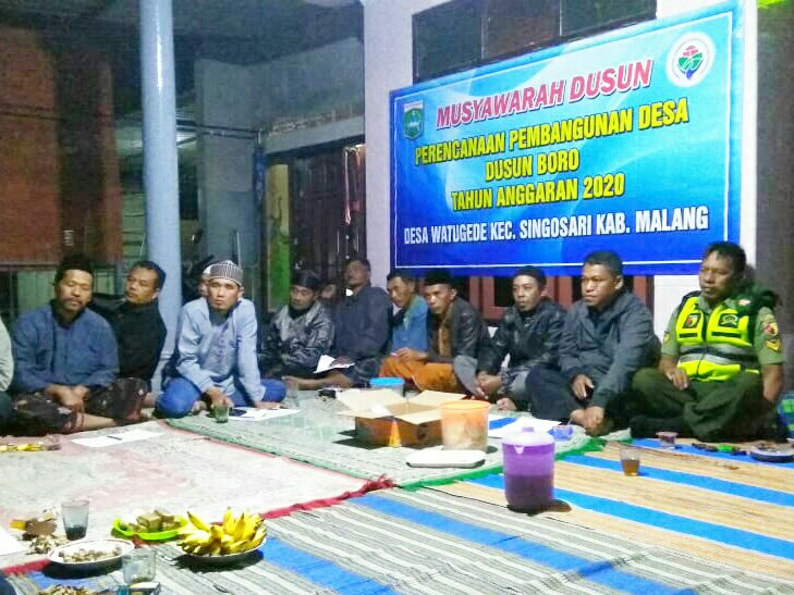 Menjaring Aspirasi Warga Melalui Musyawarah Dusun