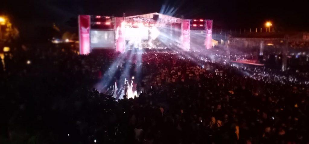 Sobat Ambyar Padati Konser Temu Dulur Gudang Baru di Kanjuruhan