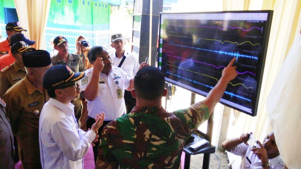 Sensor Seismograph GEJI Terpasang di Pesisir Selatan Kabupaten Malang