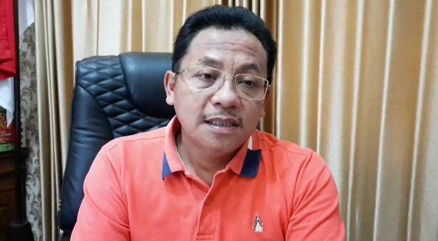 Video rilis pers yang disampaikan Walikota Malang, Sutiaji, Jumat (3/4/2020). (Foto: J.Krisna-Javasatu.com)