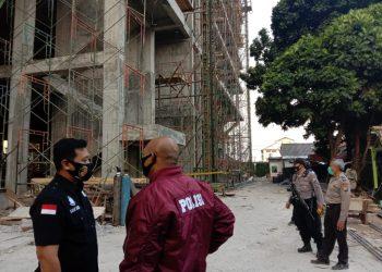 Lokasi tempat peristiwa jatuhnya para korban. (Foto: Nusadaily.com)