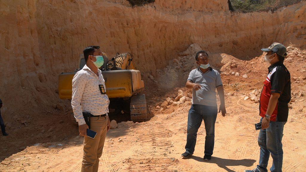 Polres Gresik Sidak Galian C Diduga Ilegal di Panceng, Polisi: Lahan Masuk Areal Tanah Negara