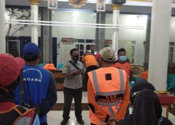 Tim SAR Terus Mencari Pemancing Hilang. (Foto: Agung Baskoro/Javasatu.com)